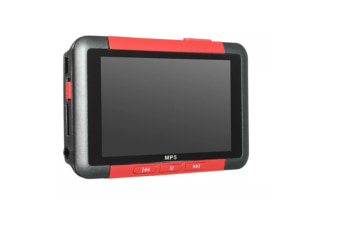 Select Mall 3 Inch Slim LCD Screen Music Player 8GB MP5 With FM Radio Video Movie Media Player MP5-Red