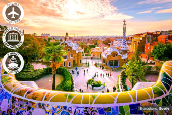 EUROPE: 25 Day European Discovery Tour Including Mediterranean Cruise & Flights for One or Two