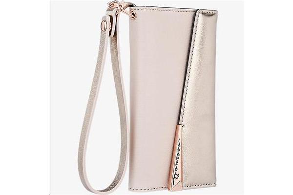 Casemate 880110 iPhone 7 Wristlet Folio - Rose Gold