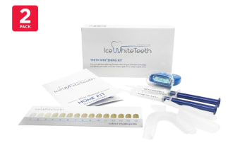 2 Pack Ice White Teeth Teeth Whitening Kit