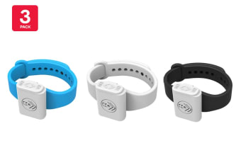 Pestill 3 Pack Electrosonic Mosquito Repeller Bracelets (Mixed)