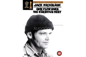 One Flew over the Cuckoo's Nest - Region 2 Rare- Aus Stock DVD Preowned: Excellent Condition