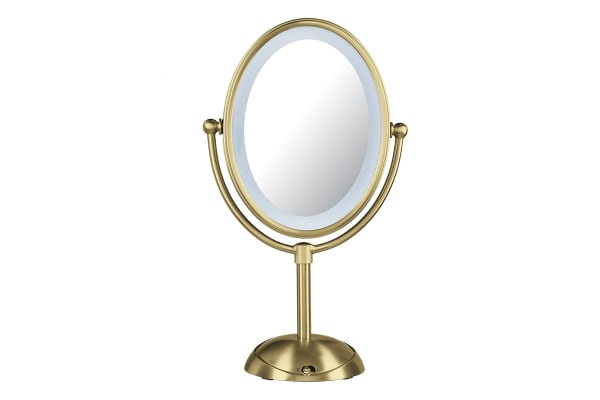 Conair Reflections Beauty Mirror - Brushed Gold (CBE51LBGA)