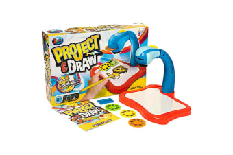 Grafix Project & Draw Art Projector Set - Blue
