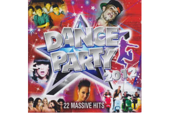 Various – Dance Party 2012 BRAND NEW SEALED MUSIC ALBUM CD - AU STOCK