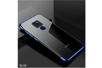 Soft Transparent Tpu Cover Ultra Thin Clear Shell For Huawei Blue Huawei Y7Priem/Enjoy7Plus