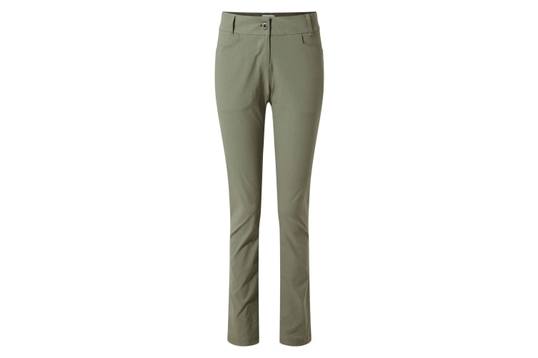Craghoppers Womens/Ladies NosiLife Clara II Trousers (Soft Moss) (10S UK)
