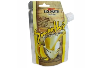 Back Country Cuisine Banana Smoothie