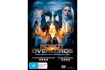 Robot Overlords DVD Region 4
