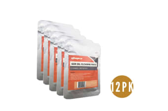 """12 Pks Atacpro Treated Gun Oil Cleaning Patches 3""""x3"""" (Pack Of 25)"""