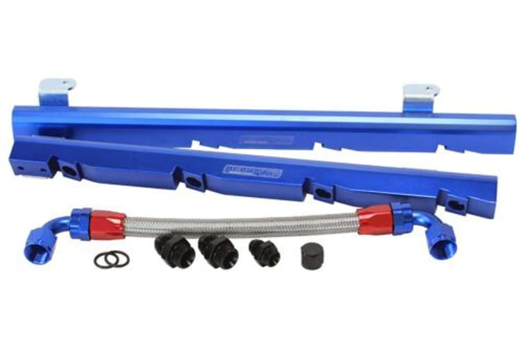 Aeroflow Holden 5L EFI Rail Kit Blue