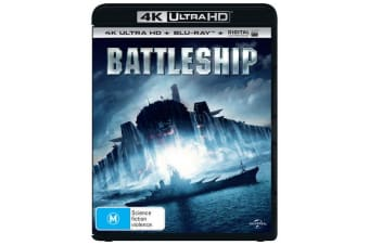 Battleship 4K Ultra HD Blu-ray Digital Download UHD Region B