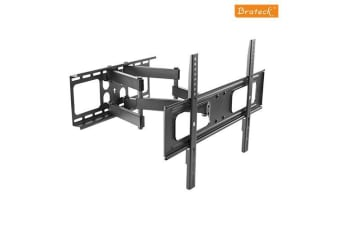 Brateck Economy Solid Full Motion TV Wall Mount for 37'-70' LED, LCD Flat Panel