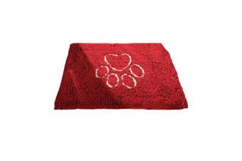 Dog Gone Smart Dirty Dog Doormat (Maroon)