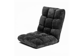 Lounge Sofa Bed LayZ - BLACK