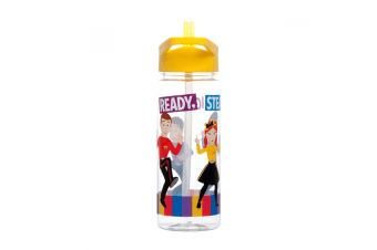The Wiggles Drink Bottle Yellow Lid