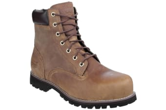 Timberland Pro Mens Eagle Gaucho Lace Up Safety Boot (Brown) (6 UK)