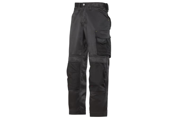 Snickers Mens DuraTwill Craftsmen Non Holster Trousers (Black) (30S)