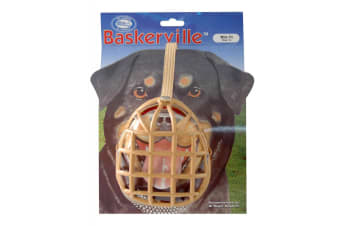 Baskerville Box Design Dog Muzzle (May Vary)