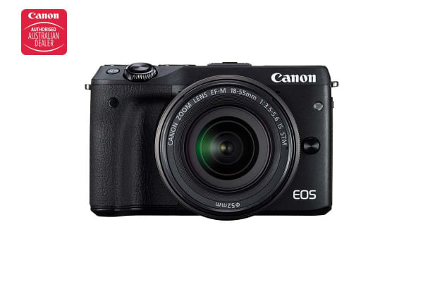 Canon EOS M3 Mirrorless Camera with 18-55mm IS STM Lens Kit