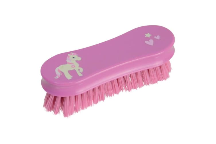 Little Rider Childrens/Kids Face Brush (Cameo Pink) (One Size)