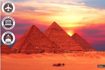 EGYPT: 10 Day Ancient Egypt Tour with Nile River Cruise Including Flights