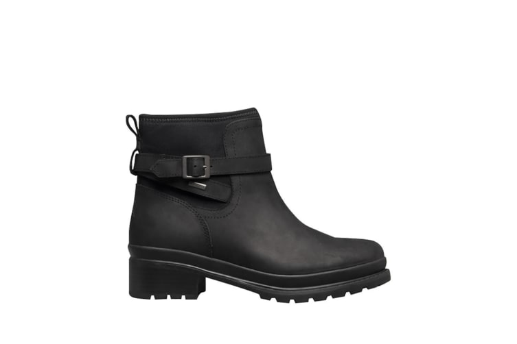 Muck Boots Womens Liberty Slip On Ankle Boot (Black) (8 UK)