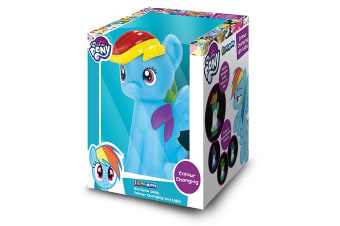 Illumi-Mates Official My Little Pony Childrens/Girls Rainbow Dash Lamp (Multicoloured) (One Size)