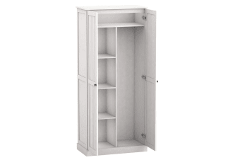 New Bathroom Pantry Storage 2 Door 5 Tier Multipurpose Cupboard Cabinet Shelf