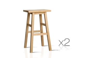 Set of 2 Baden Bar Stools (Natural)