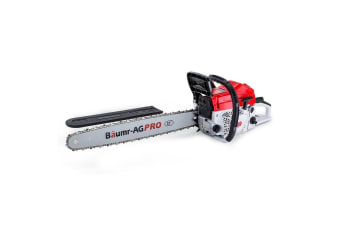 Baumr-AG 75CC Commercial Petrol Chainsaw E-Start 22 Inch Chain Saw Tree Pruning