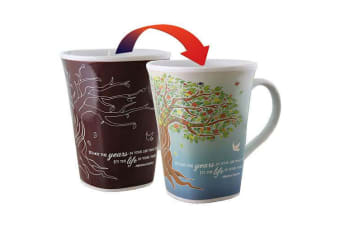 Colour Changing Story Mug - Life