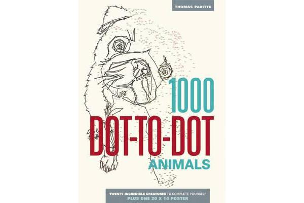 Image of 1000 Dot-To-Dot - Animals