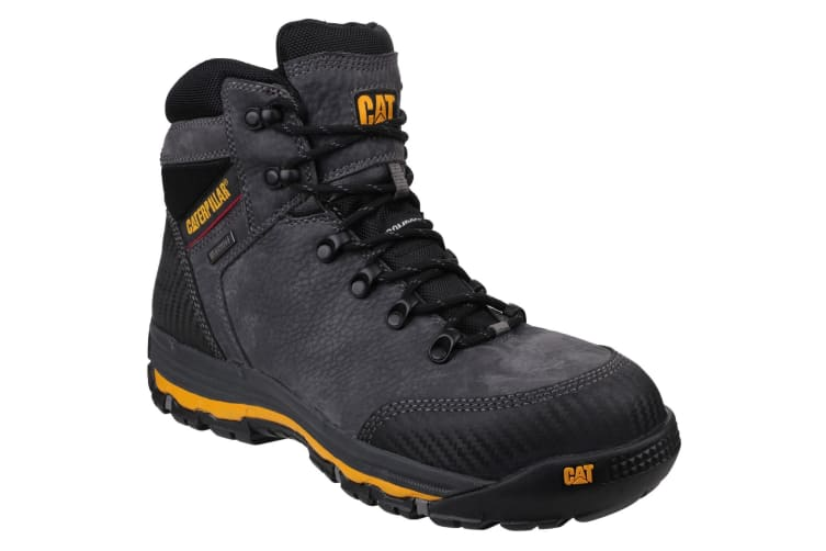 Caterpillar Mens Munising Waterproof Safety Boots (Dark Shadow) (9 UK)