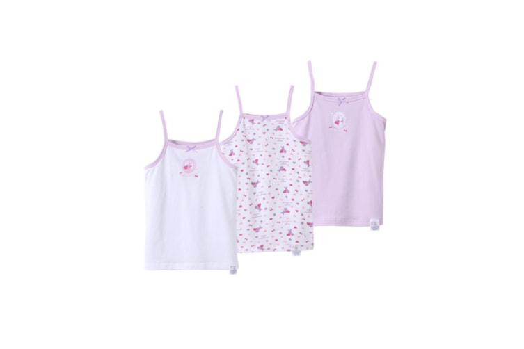 3Pcs Baby Toddler Girls' Set Of 3 Halter Tops Tanks - 3 Purple 140Cm