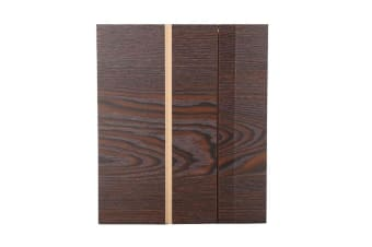 12 Inch Wood Grain Mobile Phone Screen HD Eye Protection Video Theater Support Office Home 3D Amplifier-COFFEE