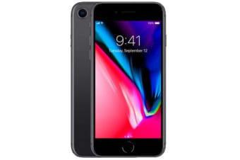 Used as Demo Apple iPhone 8 64GB 4G LTE Black (100% GENUINE + AUSTRALIAN WARRANTY)