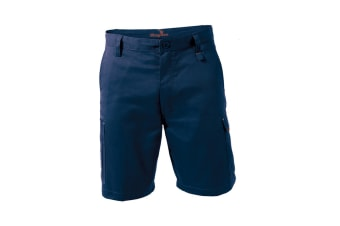 King Gee New G's Workcool Shorts (Navy, Size 97R)