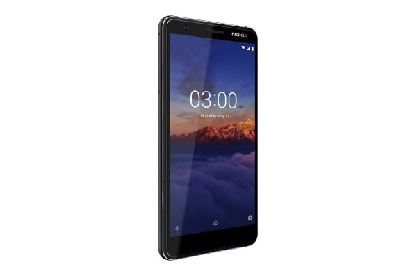 Nokia 3.1 (16GB, Black/Chrome)