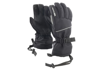 Trespass Womens/Ladies Tuck High Performance Gloves (Black)