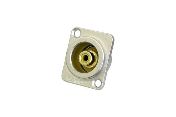 Amphenol Rca D Shell Socket Yellow