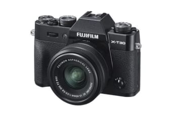 New Fujifilm X-T30 Mirrorless 26MP (15-45mm) Digital Camera Black (FREE DELIVERY + 1 YEAR AU WARRANTY)