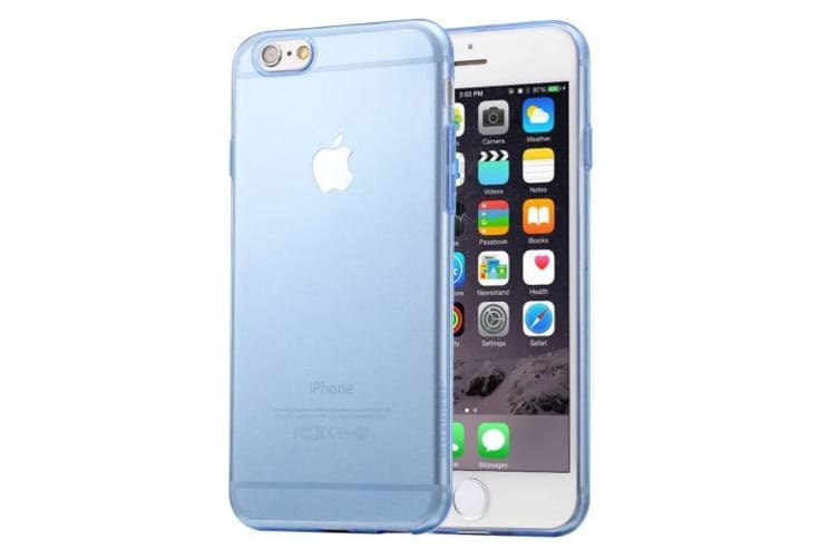 promo code a29a1 524b6 For iPhone 6S PLUS 6 PLUS Case Ultra-Thin Transparent Protective Cover Blue
