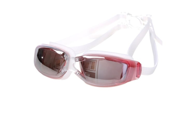 100% UV Protection Unisex No Leaking Triathlon  Swimming Goggles Pink