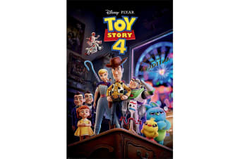 Toy Story 4 Poster (Multicoloured) (61cm x 91.5cm)