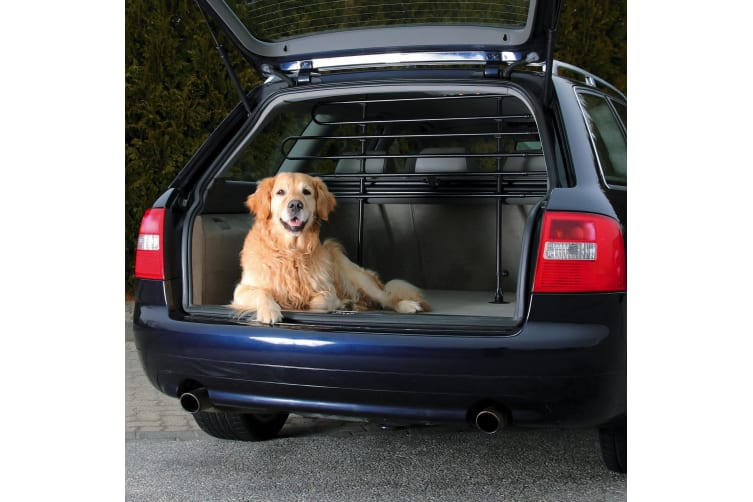 Trixie Car Dog Guard With 3 Elements (Black) (One Size)