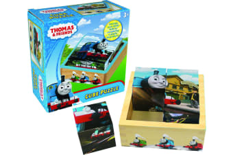 Thomas & Friends Cube Puzzle - Including 6 Playful Puzzles For Kids To Solve!