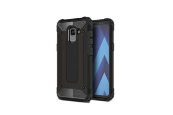 Generic Galaxy A8+ (2018) Rugged Case Black