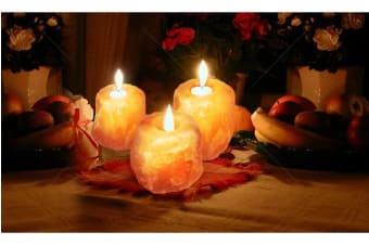 4x Himalayan Salt Tealight Candle Holder