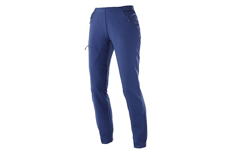 Salomon Outspeed Pants Women's (Medieval Blue, Size Medium)